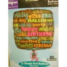 Balloon 9 inch Mylar