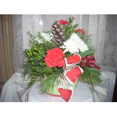 Christmas centerpiece/arrangement