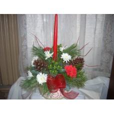 Christmas centerpiece/arrangement
