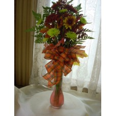 Fresh Bouquet fall bud vase