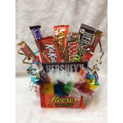 Candy Bouquet-large bars