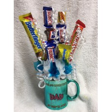 Candy Bouquet Fathers Day